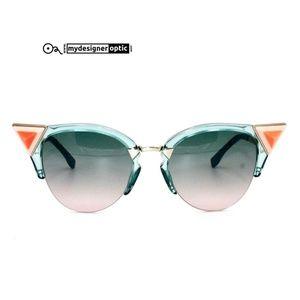 Fendi Sunglasses FF 0041/N/S BR0JP 52-19 135 Optyl